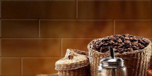 Панно Брик Кофе 1 кремовый 30х60 см