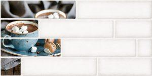 Декор Брик 2 кремовый 30х60 см
