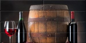 Панно Брик 2 кремовый 30х60 см